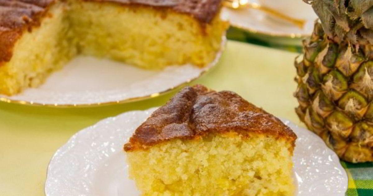 ананасовый пирог рецепт с фото самом деле