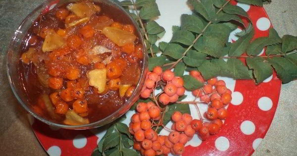 Варенье из красной рябины пошаговый рецепт с картинками