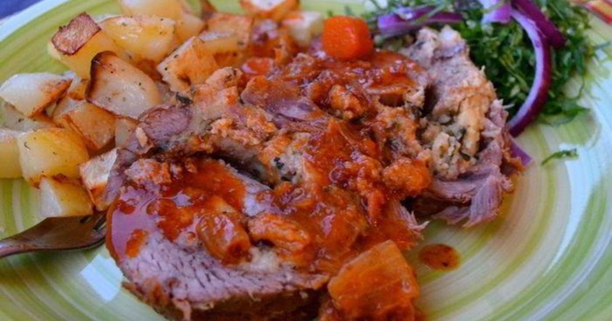 Мясо по неаполитански рецепт с фото
